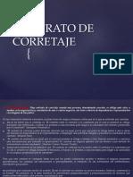 Presentación de Contrato de Corretaje