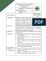 SOP Penyampaian Informasi Tentang Efek Samping Dan Resiko Pengobatan