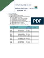 Plan Anual Institucional 2018 Segun Me