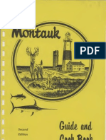 Montauk Guide and Cook Book 2nd 1959 Text
