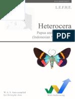 Heterocera of Papua, Christophe Avon 2014