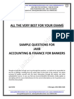 JAIIB AFB Sample Questions -May 2018 Exams