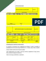 Identificación y Evaluación Del Riesgo Base