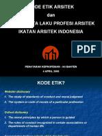 Kode Etik Arsitek