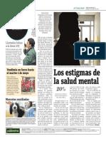 Los Estigmas de La Salud Mental