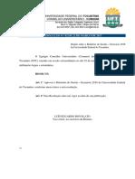Relatório de Gestão UFT - Exercício 2016