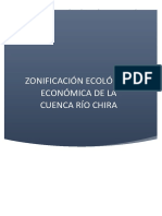 Ordenamiento Territorial Zee Cuenca Del Chira