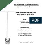 Conexiones en MArcos Para Estructuras de Acero