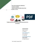 Formulacion de Proyectos Ag 5 Parcial
