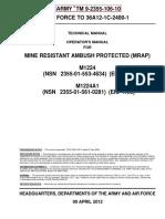 TM 9-2355-106-10 MaxxPro Base