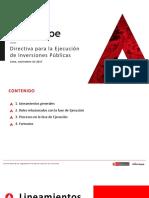 Directiva-003-Ejecución