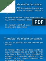 1_05 Transistor de Efecto de Campo MOSFET