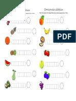 Segmentacion y Conciencia Silabica Frutas