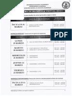 Cronograma de Matricula 2018 i