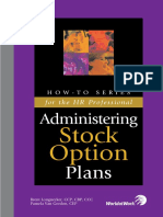 Administering Stock Option Plans
