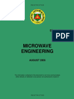 SP 11-021 Microwave Engineering