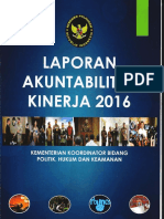 Lakip Kemenko Polhukam Tahun 2016