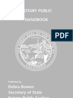 Notary Handbook 2010