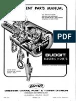 Electric Hoists - June 1971 17010-37D-71