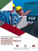 Brochure de Invierte.pe