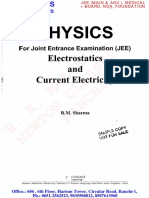 CENGAGE Electro Statics and Current Electricity
