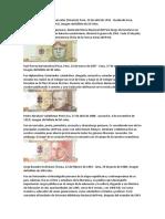 Biografía de Los Personajes de Los Billetes Del Perú