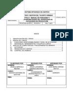 2.1.7 Supervisor de Facilidades de Produccion