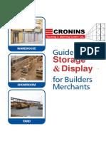 Cronins Racking Catalogue