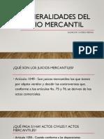 Juicio Mercantil