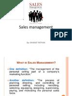 1.Sales Management