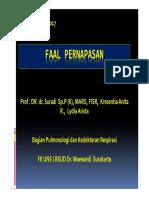 Faal Pernapasan Ppt Prof Suradi