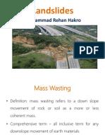Landslides Geology Lecture