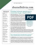 Hidrocarburos Bolivia Informe Semanal Del 13 Al 19 Sept 2010