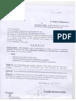 Arrêté prefectoral du 31 janvier 2018