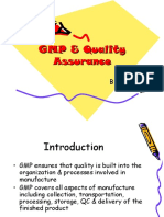 Gmp as Quality Assurance