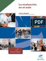 Shepard, Evaluación formativa, del libro Educational Measurement, INEE