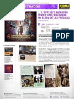 Novedades Norma Editorial Junio 2018