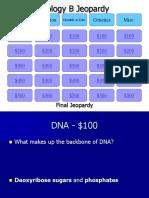 biology b final review  jeopardy