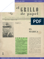 Editorial El Grillo de Papel N° 1