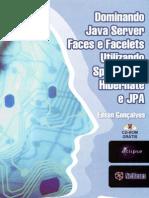 Dominando JavaServer Faces e Facelets utilizando Spring 2 5, Hibernate e JPA