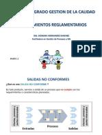 Procedimientos  Reglamentarios ISO 9001 2015 Pte 2