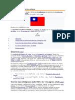 Historia de La República de China en Taiwán