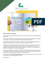 Você Conhece Seus Valores PDF