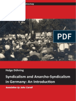 Syndicalism and Anarcho-Syndicalism in Germany