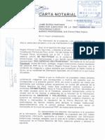 Carta Notarial