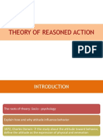 5. the Theory of Reasoned Action and Theory of Planned Behavior
