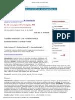 Temblor Esencial_ Una Revisión Crítica