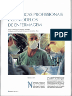 As Praticas Profissionais e Os Modelos de Enfermagem - Artigo Rev. Servir 1997