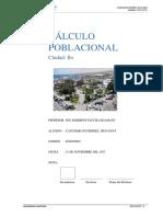 Calculo Poblacional de La Ciudad de Ilo