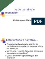 Cinegrafia_Narrativa e Montagem